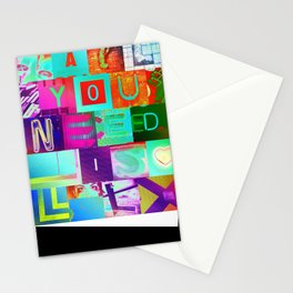 All You Need Is LOL Stationery Cards