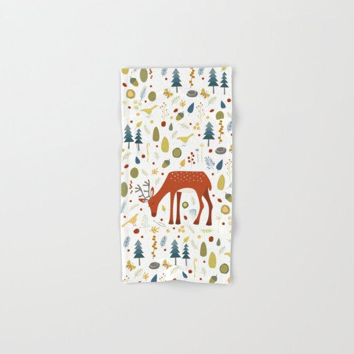 Oh Deer Hand & Bath Towel