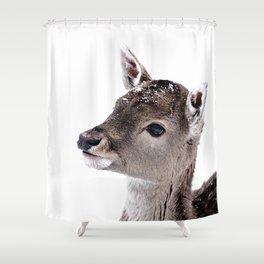 LITTLE FAWN FIONA 2 Shower Curtain