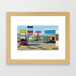 Signs Framed Art Print