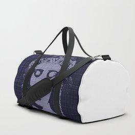 Belle of the Art Nouveau era,Beautiful,elegant,mystique,chic,purple, Duffle Bag