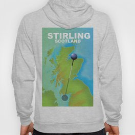 Stirling Scotland Travel poster, Hoody