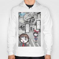 manga Hoodies featuring Shoujo Manga  by I love Bubbah
