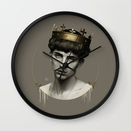 THE GOLDEN KING Wall Clock