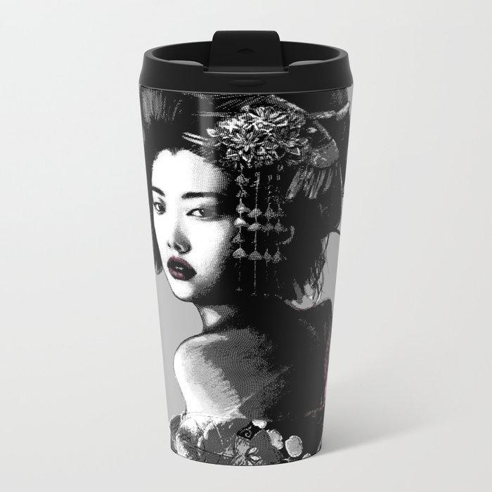 Geisha Metal Travel Mug
