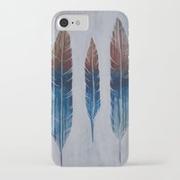 running iPhone & iPod Cases featuring Running by Brianna Gosselin
