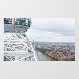 From the London eye Rug