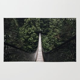Lynn Canyon Suspension Bridge Rug