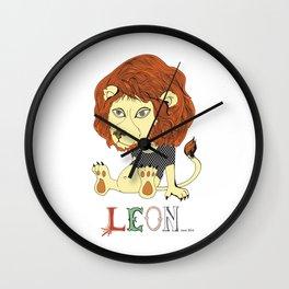 Leon Wall Clock