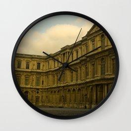 Palais du Louvre Wall Clock