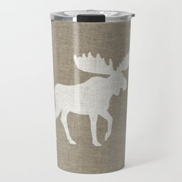 Moose Silhouette Travel Mug