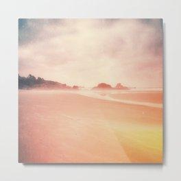 Technicolor Beach Dreams Metal Print