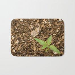 Cannabis Sprout Bath Mat