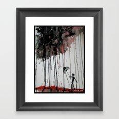 Braindrops Framed Art Print