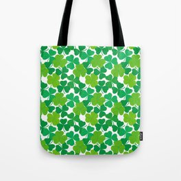 Shamrock Pattern Tote Bag