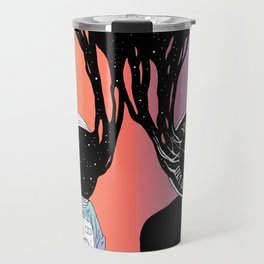 A Portrait of Space and Time ( A Study of Existence) Travel Mug