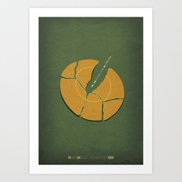 Breaking Bad - ...And The Bag's in the River Art Print