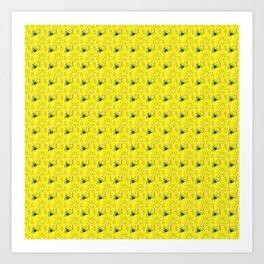 Fiesta Yellow Art Print