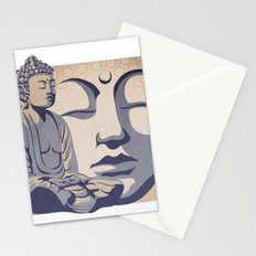 Zen Buddha: Awakened and Enlightened One Stationery Cards