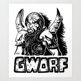 Gworf Art Print