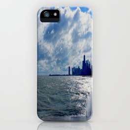 When Sandy Made Waves in Chicago #4 (Chicago Waves Collection) iPhone Case