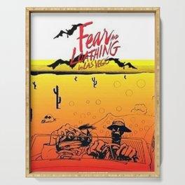 Fear and Loathing in Las Vegas- Desert Serving Tray