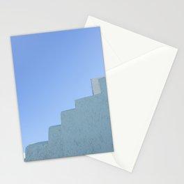 Steps in Santorini Stationery Cards