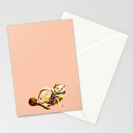 Here Litte Kitty Stationery Cards