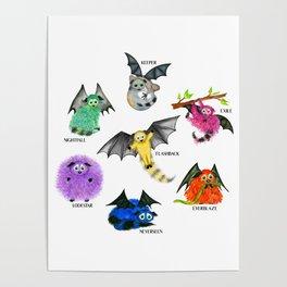 Seven Books, Seven Iggys Poster