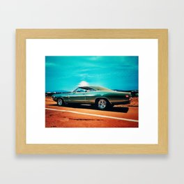 1968 Dodge Charger R/T - Chasing The Northern Summer Framed Art Print