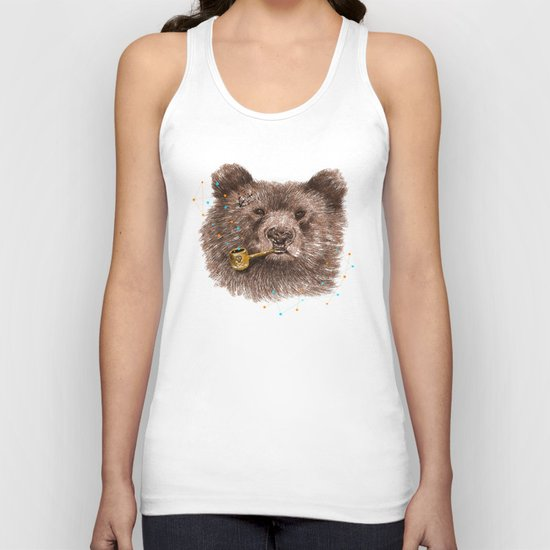 Sailor Bear II Unisex Tank Top