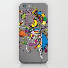 Colored Doodle Slim Case iPhone 6s