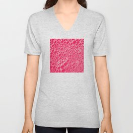 Champagne Bubbles Collection: #5 – Candy Apple Red Unisex V-Neck