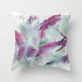 Floral Impression / Dazed Up Close Throw Pillow