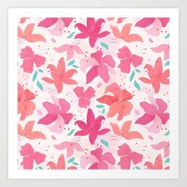 Sugar Lily Art Print
