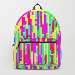 Girl Glitch - Digital Glitch Art Backpack