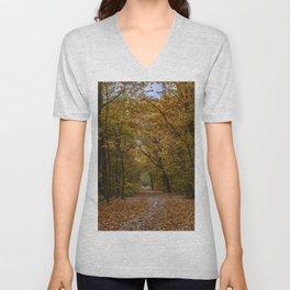 Autumn forest II Unisex V-Neck