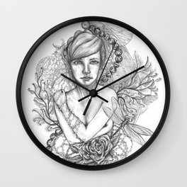 Modern Modesty Wall Clock