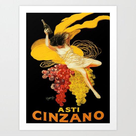 Vintage poster - Asti Cinzano by mosfunky