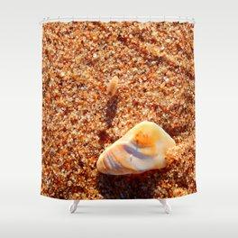 Sand Flea on the Beach Shower Curtain