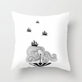 I Am My Own Umber-ella Throw Pillow
