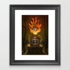 Mountain Juice Framed Art Print