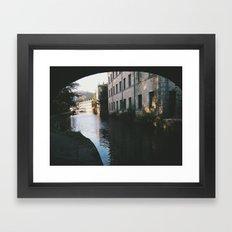 hebden bridge Framed Art Print