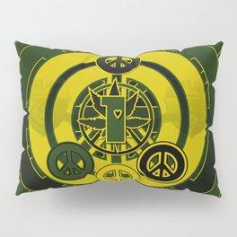 One Love (Green) Pillow Sham