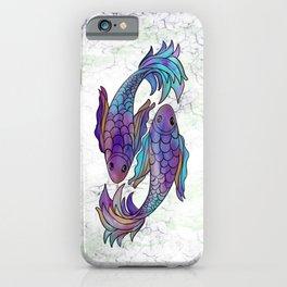 Pisces Multi iPhone Case