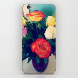 Rose Bouquet Pop iPhone Skin
