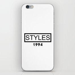 STYLES 1994 iPhone Skin