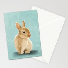 Portrait of a little bunny Stationery Cards