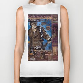 Stevie Ray Vaughan Biker Tank