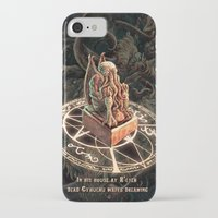 cthulhu iPhone & iPod Cases featuring Cthulhu by TheMagicWarrior
